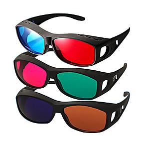 olcso VR Glasses-reedoon piros kék egymás mellett myopia 3D szemüveg számítógépes tv mobil
