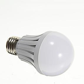 olcso LED & Világítás-LED gömbbúrás izzók 420-450 lm E26 / E27 21 LED gyöngyök SMD 2835 Meleg fehér 220-240 V / #