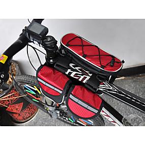 olcso Sport és életmód-Acacia Váztáska Vízálló Fényvisszaverő csíkok Kerékpáros táska 600D Ripstop Vízálló anyag Kerékpáros táska Kerékpáros táska Kerékpározás / Kerékpár