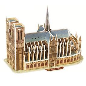 povoljno Igračke i razonoda-Poznata zgrada 3D puzzle Drvene puzzle Papirnata maketa Papir Dječji Odrasli Igračke za kućne ljubimce Poklon