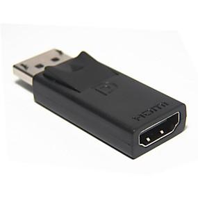 Недорогие DisplayPort-DP порт дисплея мужчины к женщине HDMI адаптер конвертер адаптер