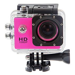 olcso Sportkamerák és GoPro tartozékok-SJ4000 Akciókamera / Sport kamera GoPro videonapló Vízálló / Ütésvédelem / Minden egyben 32 GB 12 mp 4000 x 3000 Pixel Búvárkodás / Szörfözés / Univerzalno 1.5 hüvelyk CMOS 30 m