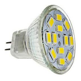 olcso EU Raktár-LED szpotlámpák 560 lm GU4(MR11) MR11 12 LED gyöngyök SMD 5730 Dekoratív Hideg fehér 12 V / RoHs / CE