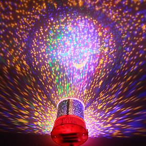 رخيصةأون مصابيح ليد مبتكرة-دي رومانسية غالاكسي السماء المرصعة ضوء الليل العارض للاحتفال المهرجان