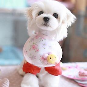Недорогие Бижутерия и аксессуары для собак-Лето - Косплей - Розовый - Банданы и шляпы - для Собаки - Хлопок