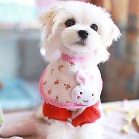 Недорогие Бижутерия и аксессуары для собак-Лето - Косплей - Белый - Банданы и шляпы - для Собаки - Хлопок