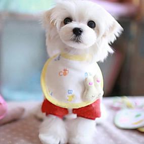 Недорогие Бижутерия и аксессуары для собак-Лето - Косплей - Желтый - Банданы и шляпы - для Собаки - Хлопок