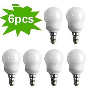 billige LED og belysning-E14 220-240 V W 400 lm lm Varm hvit