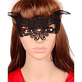 Недорогие Головные уборы-женская Европа сексуальные кружева бабочка карнавал маска