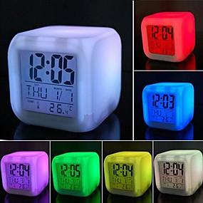 levne LED noční osvětlení-1ks Obrazovka / LED noční světlo Baterie Voděodolné
