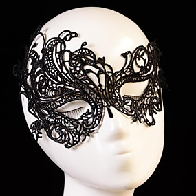 olcso Kalapok és sapkák-Women's Europe Vintage Sexy Lace Party Mask