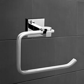 رخيصةأون أدوات الحمام-حمالة ورق تواليت معاصر نحاس 1 قطعة - حمام الفندق