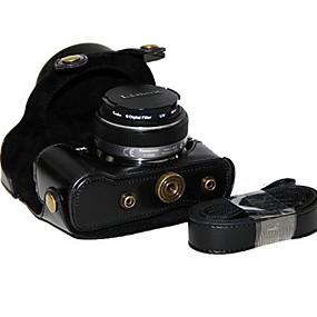 olcso Videokamera & fényképezőgép tartozékok-Félvállas Tok Porbiztos PU bőr