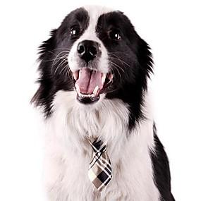 voordelige Honden Sieraden & Accessoires-lureme multicolor strikje voor huisdieren honden (willekeurige kleur)