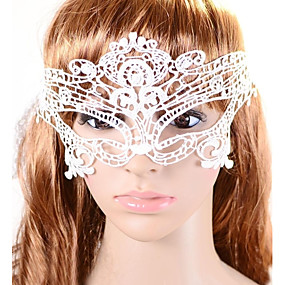 olcso Kalapok és sapkák-Women's Europe Vintage Lace Party Mask