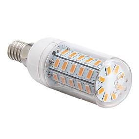 olcso BRELONG-1db 4 W LED kukorica izzók 360 lm E14 E26 / E27 48 LED gyöngyök SMD 5730 Meleg fehér Hideg fehér 220-240 V