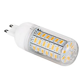 رخيصةأون إضاءة ليد بالجملة-1PC 5 W أضواء LED ذرة 500-620 lm G9 T 56 الخرز LED SMD 5730 أبيض دافئ أبيض كول 220-240 V