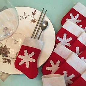 olcso Karácsonyi díszek-1set Santa Díszítések Karácsony Újdonságok Parti, Ünnepi Dekoráció Ünnepi díszek