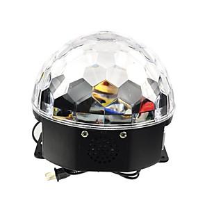 olcso Színpadi LED fények-1db LED gyöngyök Tompítható Hang-aktiválás Szeretetreméltő Váltó 100-240 V