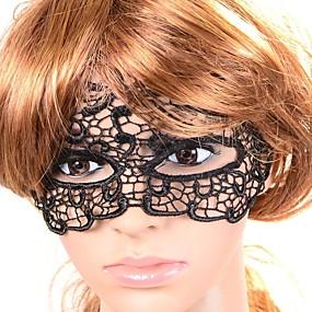 Недорогие Головные уборы-Женская винтажная маска