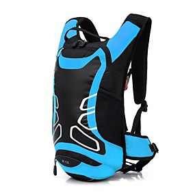 cheap Camping & Hiking Accessories-12 L Bike Hydration Pack & Water Bladder Waterproof Moistureproof Dust Proof Wearable Outdoor Swimming Camping / Hiking Football / Soccer Polyester Nylon Red Green Blue