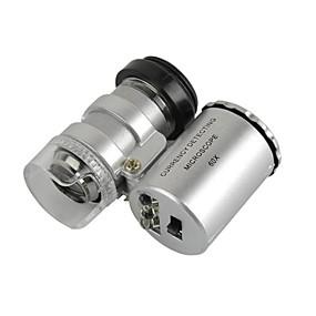 ieftine Microscop & Endoscop-universal obiectiv 60x microscop stabilite pentru iPhone / iPad / Samsung / HTC + mai multe telefoane mobile / tablet pc