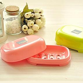 رخيصةأون أدوات الحمام-أغراض الحمام تصلح للسفر / متعددة الوظائف / صديقة للبيئة بلاستيك 1PC / مخزن