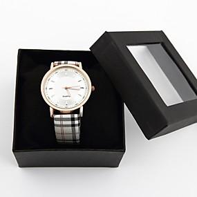 olcso Személyre szabott órák-Személyre szabott ajándékot Watch, Analóg Kvarc Watch With ötvözet tok anyaga PU Zenekar Divatos óra Vízállóság Mélység