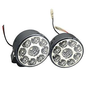 olcso Más LED fények-2db autó izzók 4w smd vezetett 9 nappali menetfény (7,5 * 7,5 * 5cm)