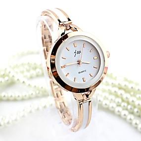ieftine Cuarț ceasuri-Pentru femei Ceas Brățară ceas de aur Quartz femei imitație de diamant Analog Auriu Argintiu