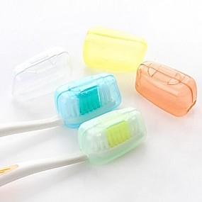 olcso Utazás-Fogkefetartó utazáshoz Vízálló Hordozható Antibakteriális Pipere mini méret Ételszintű anyag 3.8*2.2*2 cm