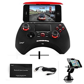 voordelige Smartphone Game Accessories for iOS-iPEGA Draadloos Gamecontroller Voor Smartphone ,  Bluetooth Draagbaar / Gaming Handvat Gamecontroller ABS 1 pcs eenheid