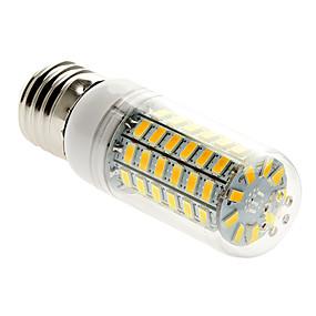 olcso BRELONG-1db 5 W 450 lm E26 / E27 LED kukorica izzók T 69 LED gyöngyök SMD 5730 Meleg fehér 220-240 V / 1 db.