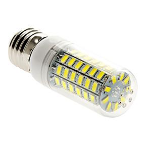 olcso US Raktár-BRELONG® 1db 5 W 400 lm E26 / E27 LED kukorica izzók T 69 LED gyöngyök SMD 5730 Meleg fehér / Hideg fehér 220-240 V