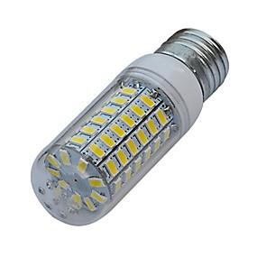 رخيصةأون أضواء LED ذرة-1PC 6 W 480 lm E26 / E27 أضواء LED ذرة T 69 الخرز LED SMD 5630 أبيض دافئ / أبيض كول 220-240 V