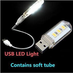Недорогие LED гаджеты-1шт Светодиодная подсветка для чтения / LED Night Light USB Декоративная 220 V