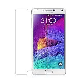 Недорогие Чехлы и кейсы для Galaxy Note-Защитная плёнка для экрана для Samsung Galaxy Note 4 Закаленное стекло Защитная пленка для экрана
