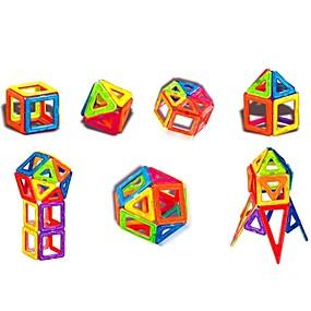 olcso Újdonságok-Mágneses játékok Építőkockák Super Strong ritkaföldfémmágnes Neodímium mágnes Puzzle Cube ABS Gyermek / Felnőttek Fiú Lány Játékok Ajándék