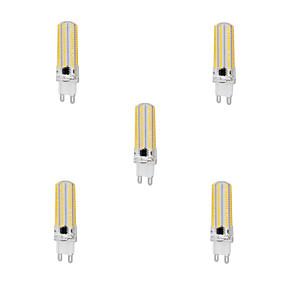 billige LED og belysning-YWXLIGHT® 5pcs 10 W LED-kornpærer 1000 lm G9 T 152 LED perler SMD 3014 Mulighet for demping Varm hvit Kjølig hvit 220-240 V / 5 stk.