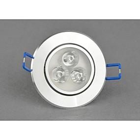 olcso SüllyesztettLED izzók-LED mélysugárzók 400-450lm 2G11 Forgatható 3 LED gyöngyök Nagyteljesítményű LED Tompítható Meleg fehér Hideg fehér 220-240 V / 1 db. / RoHs / CE
