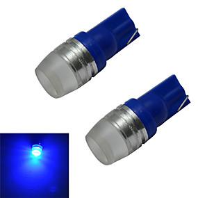 olcso Más LED fények-2pcs 1.5 W 50-100 lm 1 LED gyöngyök Nagyteljesítményű LED Kék 12 V / 2 db.