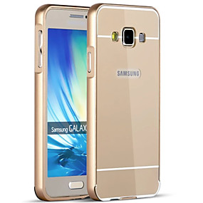 voordelige Galaxy A9(2016) Hoesjes / covers-hoesje Voor Samsung Galaxy A9(2016) / A7(2016) / A5(2016) Beplating Achterkant Effen Hard Acryl