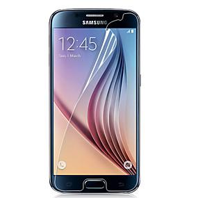 Недорогие Чехлы и кейсы для Galaxy S-Защитная плёнка для экрана для Samsung Galaxy S6 PET Защитная пленка для экрана HD