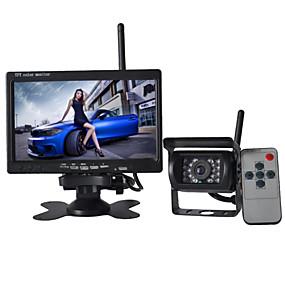 abordables Electroniques de Voiture-7 pouces écran 170 ° hd arrière de voiture de bus caméra + bus haute définition grand angle caméra étanche cmd