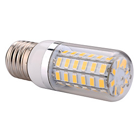 olcso SENCART-YWXLIGHT® 1db 12 W LED kukorica izzók 1200 lm E26 / E27 T 56 LED gyöngyök SMD 5730 Meleg fehér Hideg fehér 220-240 V 110-130 V / 1 db.