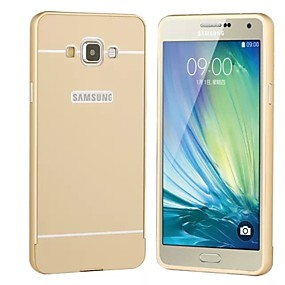 voordelige Galaxy A3(2016) Hoesjes / covers-hoesje Voor Samsung Galaxy A3 (2017) / A5 (2017) / A7 (2017) Beplating Achterkant Effen Hard Acryl
