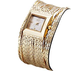 Недорогие Фирменные часы-ASJ Жен. Эксклюзивные часы Наручные часы золотые часы Японский Кварцевый Серебристый металл / Золотистый / Розовое золото 30 m Защита от влаги Аналоговый Дамы Винтаж На каждый день Мода - / Один год