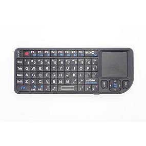 olcso Billentyűzetek-2 az 1-ben mini tenyérnyi 2.4G vezeték nélküli billentyűzet és egér kombó touchpad a Google Android TV box Smart PC