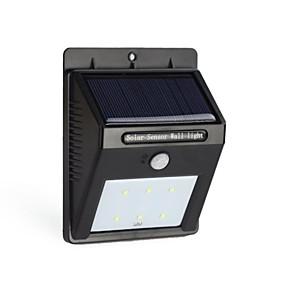 Χαμηλού Κόστους Ηλιακά φώτα LED-6led ηλιακή pir εξουσία αισθητήρας κίνησης φωτός τοίχο υπαίθρια αδιάβροχο κήπο φανός