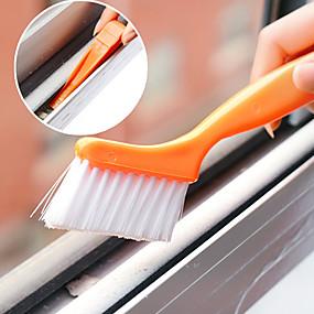 olcso Tisztítóeszközök-ablakpálya tisztító kefe apró lapáttal tervezett házi tisztítóval